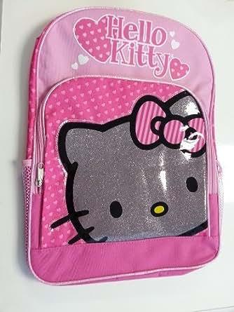 Amazon.com   Backpack - Hello Kitty - Black Kitty Face