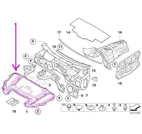 Amazon.com: BMW 3-series (06-11) Hood Liner GENUINE: AutomotiveAmazon.com