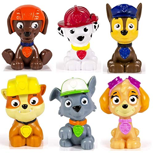 Spin Master Paw Patrol Figure Set 6 Piece (Babies R Us Toys For 2 Year Old)