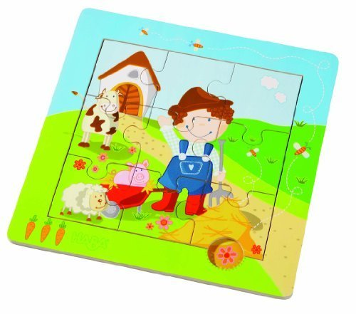 Haba Little Farm Discovery Puzzle by HABA - Haba Puzzle Book
