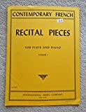 img - for Contemporary French Recital Pieces: for Flute and Piano, Vol. 1 (No. 1832) book / textbook / text book