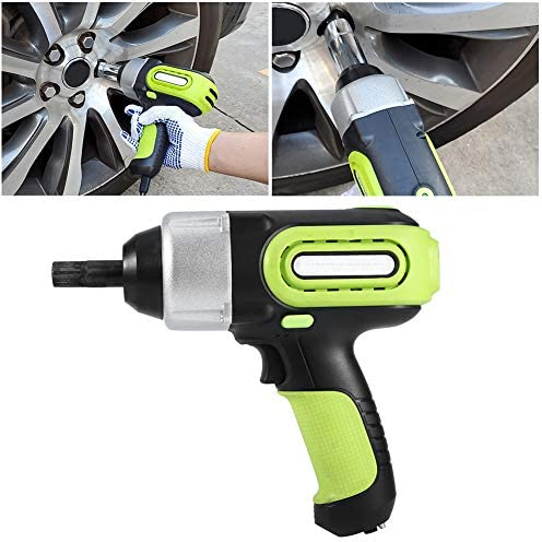 Akozon Electric Wrench 420N.M High Torsion Professional Tire Change Replace Tool