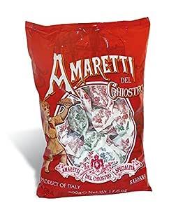 Crunchy Amaretti Cookies Cello Bag 17.6 oz