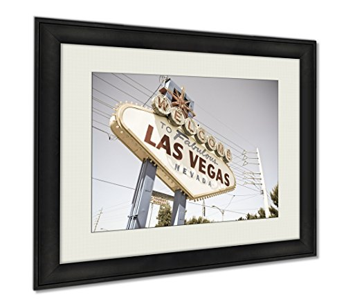 Ashley Framed Prints Vegas, Wall Art Home Decoration, Color, 34x40 (frame size), AG5649757 by Ashley Framed Prints