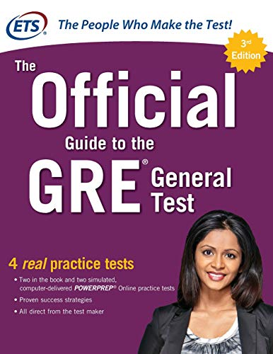 Pdf Test Preparation The Official Guide to the GRE General Test