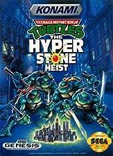 Teenage Mutant Ninja Turtles: The Hyperstone Heist (Sega Genesis / Mega Drive) - Reproduction Game Cartridge with Clamshell Case and Manual