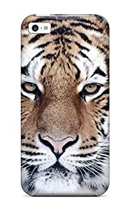 TYHde Top Quality Case Cover For Iphone 5/5s Case With Nice Tiger Close Up Appearance ending