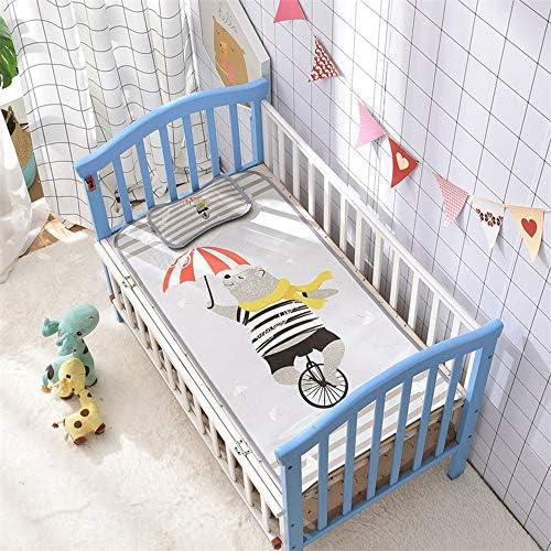 マットレス、マットレスラテックス、ベビーマットアイスシルク夏通気性新生児子供幼稚園シエスタベビーベッド枕を送信するには,Little bear,60*120