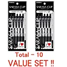 "Zebra Sarasa Clip 0.5 Black P-JJ15-BK5 × 2 ""10 Pen-Pack"" Value Set (with Our Shop Original Description of Goods)"