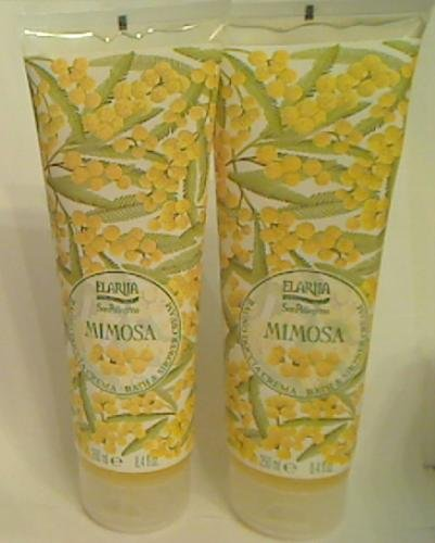 Mimosa Cream Perfume (Perlier Elariia Mimosa Moisturizing Bath & Shower Cream - 8.4 oz/250 ml)