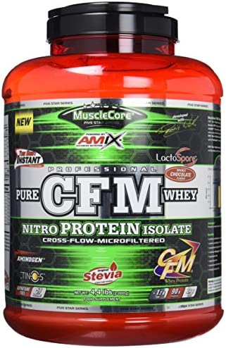 CFM NITRO WHEY WITH ACTINOS 2 KG Doble-chocolate