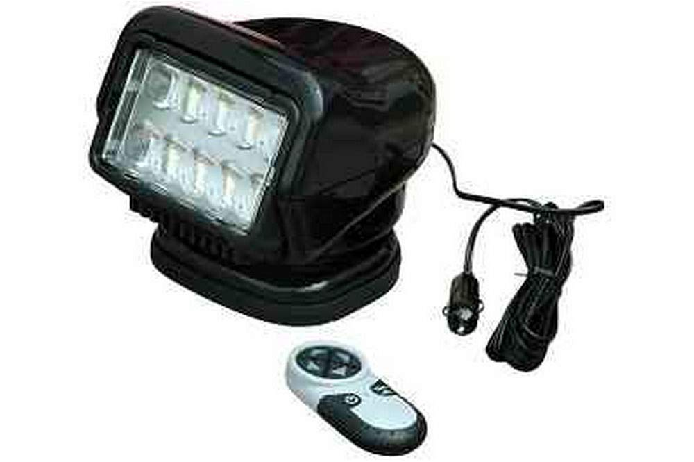 Golight Stryker Wireless Remote Control Spotlight - Handheld Remote - Magnetic Mount - Black