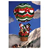 Bucilla Felt Applique Home Accent Kit, 8 by 17.5-Inch, 86153 Up, Up and Away Wreath