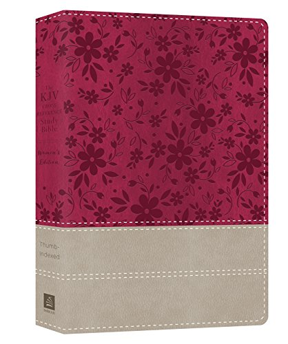 The KJV Cross Reference Study Bible Women's Edition Indexed [Floral Berry]