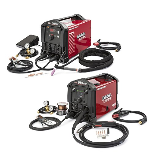Lincoln Electric Power MIG 210 MP and Square Wave TIG 200 Garage Pak