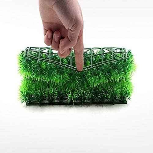 Simule el Paisaje del Tanque de Peces de césped de la Planta de césped de Agua Verde para la decoración del Acuario casero 2