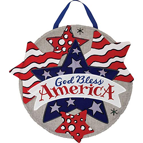 God Bless America - Sculpted and Emboidered Fabric Creations by Custom Décor Inc.