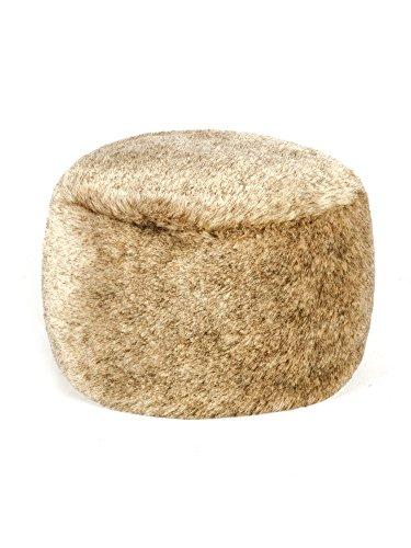 (Futrzane Women's Fur Hat Russian Cossack Made of Faux Rabbit Fur (S, Light Beige))
