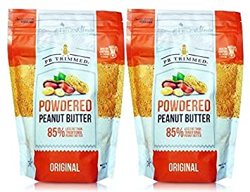1eec2130c3f8 PB Trimmed All Natural & Kosher Premium Powdered Peanut Butter from Real  Roasted Pressed Peanuts,...