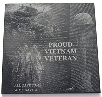 ff1624a5c85 Amazon.com  Proud Vietnam Veteran Tribute Plaque 6