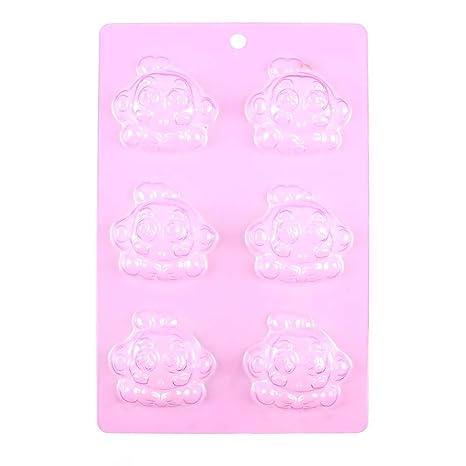 Chocolate Candy de moldes para bebé ducha F221 Mono dibujos animados fondant silicona para boda con
