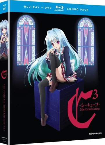 - C3 - Cube x Cursed x Curious: The Complete TV Series + OVA [Blu-ray + DVD]