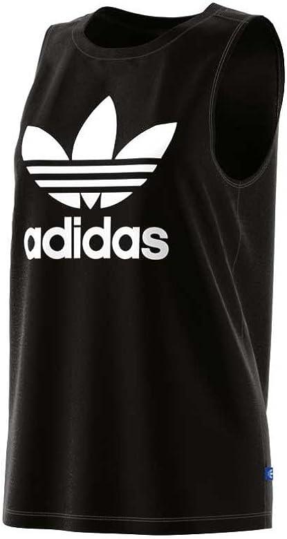 adidas Loose Tank Camiseta, Mujer, Negro, 36: Amazon.es