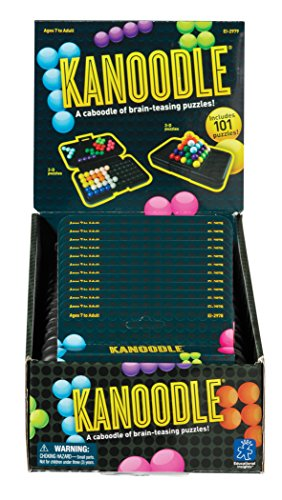 Educational Insights 2979 Kanoodle Display 12 Games by Educational Insights