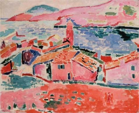 Oil Painting 'View Of Collioure 1905 By Henri Matisse' Printing On Perfect Effect Canvas , 12x15 Inch / 30x37 Cm ,the Best Kids Room Gallery Art And Home Gallery Art And Gifts Is This Best Price Art Decorative Prints On Canvas
