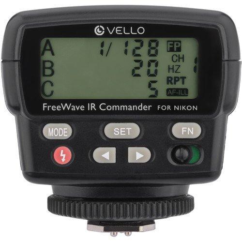 Vello FWIRC-N FreeWave IR TTL Flash Commander for Nikon by Vello