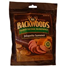 LEM Products 9040 Backwoods Jalapeno Summer Sausage Seasoning with Cure Packet