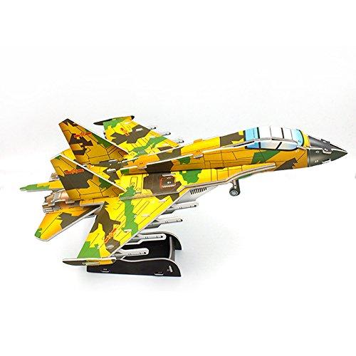 quality design da130 50a9a 70% de réduction Puzzles 3D Modèle d avion Militaire inclus 1 Outil de  Suppression Gratuit de Puzzle Pieces pour ...