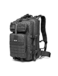 Crazy Ants 3P 37L Outdoor Tactical Backpack Military Rucksacks for Camping Hiking and Trekking Waterproof