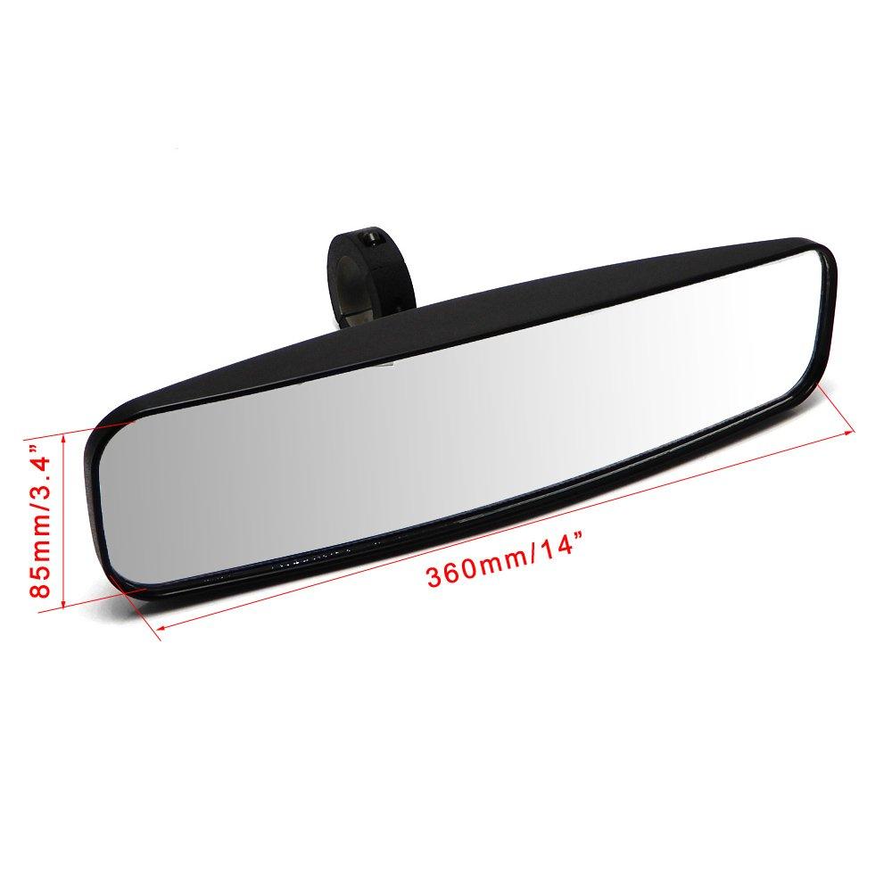 1.75 UTV Mirror for Polaris RZR 800 1000 S 900 XP 1000 GATOR YXZ Rear View Side Mirrors
