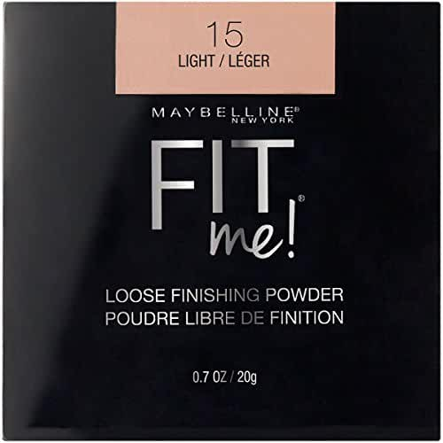 Maybelline New York Fit Me Loose Finishing Powder, Light, 0.7 Ounce