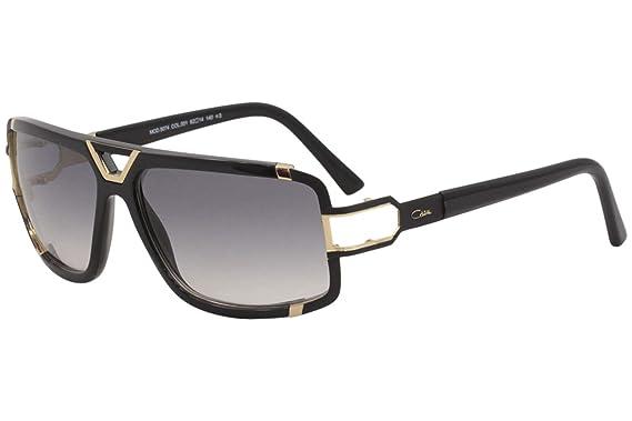 1c71a0ffced Amazon.com  Cazal Men s 9074 001SG Matte Black Gold Retro Pilot ...