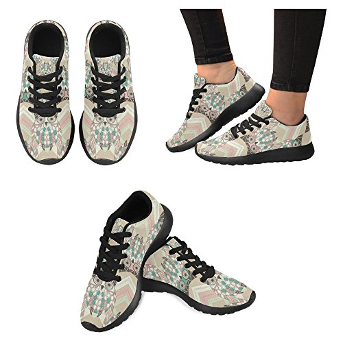 Multi Womens Running Sneaker Running InterestPrint Comfort Lightweight Sports Shoes Easy Casual Walking 5 Jogging Go pOxq4fwd