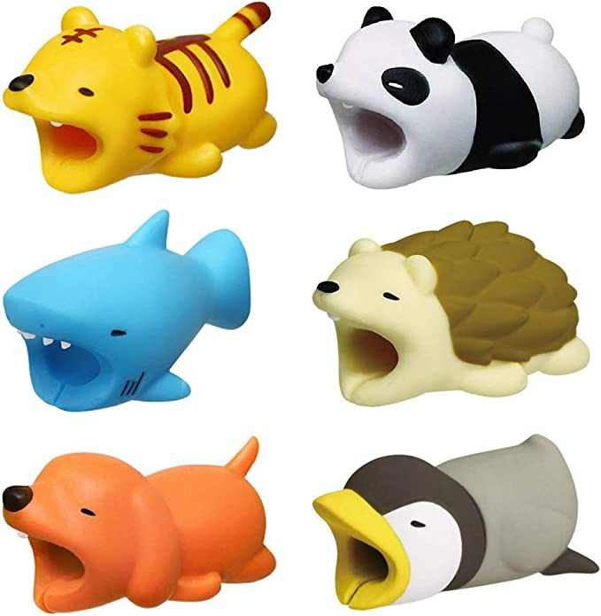animal phone charger protector