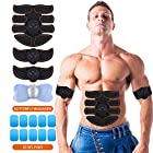 UYGHHK Abs Stimulator Muscle Trainer Ultimate Abs Stimulator Muscle Toner Toning Belt EMS