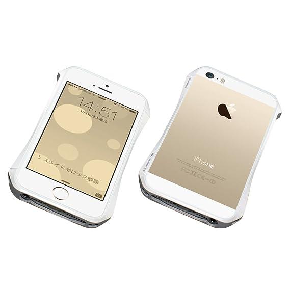 premium selection fe3ef 816ea Amazon.com: DEFF CLEAVE ALUMINUM BUMPER AERO for iPhone 5s/5 (Luxury ...
