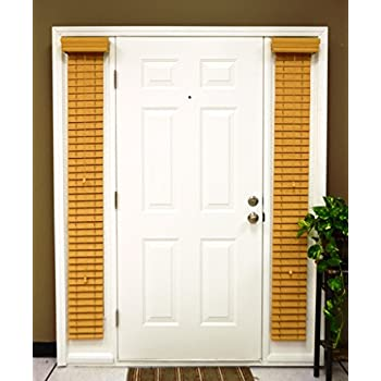 Amazon Com Delta Blinds Supply Faux Wood Sidelight Blinds