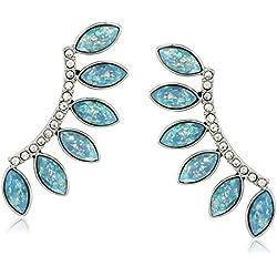 Rebecca Minkoff Opal Fan Drop Stud Earrings