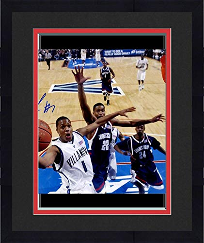 Framed Kyle Lowry Villanova Wildcats Autographed NCAA Basketball 8x10 Photo AJSW Hologram - Steiner Sports Certified