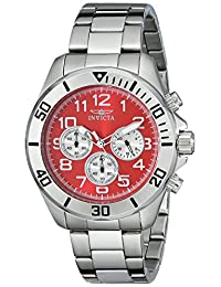 Invicta Men's 17938SYB Pro Diver Analog Display Japanese Quartz Silver Watch