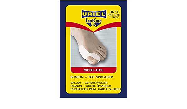 Amazon.com: Meditex Bunion and Toe Spreader by Uriel: Health & Personal Care