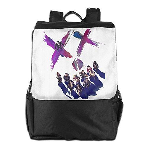 [AIJFW Outdoor Travel Bag - Suicide Squad Team Unisex Backpack Daypack Bookbags Rucksack Shoulder] (Katana Dc Costume)