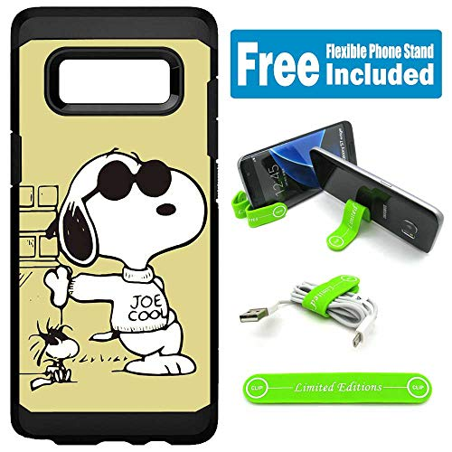 for Samsung [Galaxy S10e] [Galaxy S10 Lite] Hybrid Rugged Hard Cover Case - Peanuts Snoopy Sunglasses ()