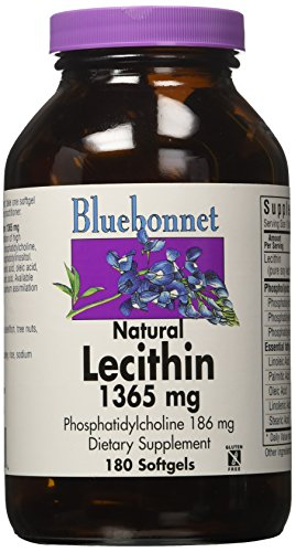 BlueBonnet Lecithin Supplement, 180 Count by Bluebonnet