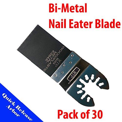 MTP ? Pack 30X Bi-Metal Quick Release Universal Fit Multi Tool Oscillating Mult
