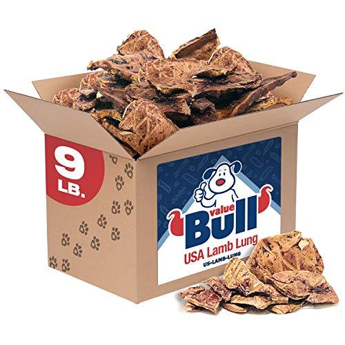 ValueBull USA Sliced Lamb Lung Dog Chews